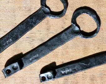 Bartender Bottle Opener Hand Forged Blacksmith