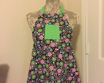 Handmade Personalized/Monogrammed Children's Apron