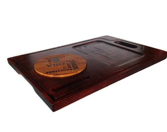 Baribocraft Cheese Board, Mid Century Wooden Board, Canada