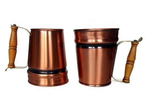 solid copper mugs gregorian copper steins moscow mules. Black Bedroom Furniture Sets. Home Design Ideas
