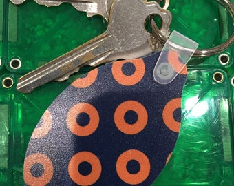 Phish Donut Key Chain / Zipper Pull / Luggage Tag