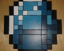Minecraft diamond shaped coster