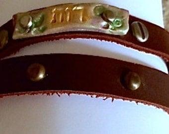 Friends of Ruthie bracelet-Double wrap