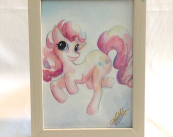 Original Watercolor of Pinkie Pie