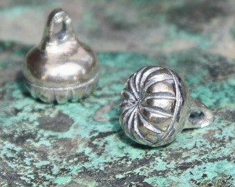 VIKING Sterling Silver BUTTON Re-enactment Vikings Slavic Slav Costume Pagan Knob Dar Age Medieval Middle Ages Fashion Accessories LARP Sca