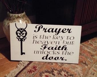 prayer key sign