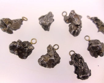 Meteorite Pendant - Authentic Meteorite from Outer Space - WOW (RK65B7)