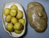 Sale was 45.00 now 35.00 Mizter Potato Face Unique Potato Server HouseWarming Gift