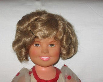 vintage 1972 ideal 16 inch shirley temple doll