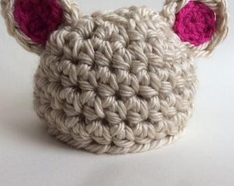 Newborn Lamb Hat