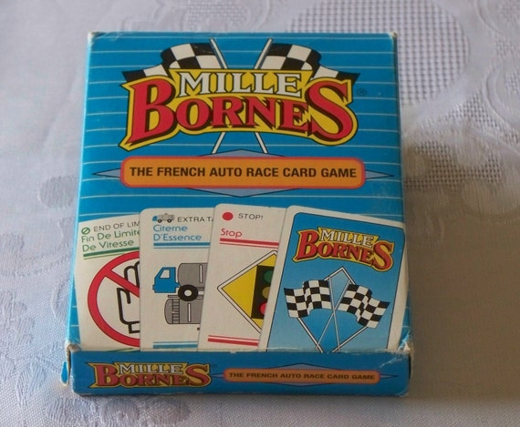 classic french racing card game mille bornes 1992 complete vgc. Black Bedroom Furniture Sets. Home Design Ideas
