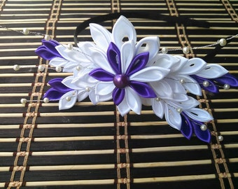 Beautiful Kanzashi Flower Head Band