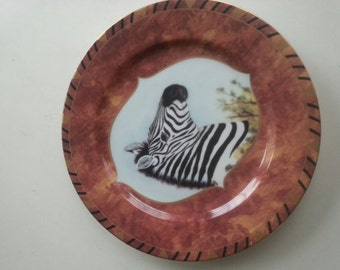 Lynn Chase  'African Portraits' Salad Plate