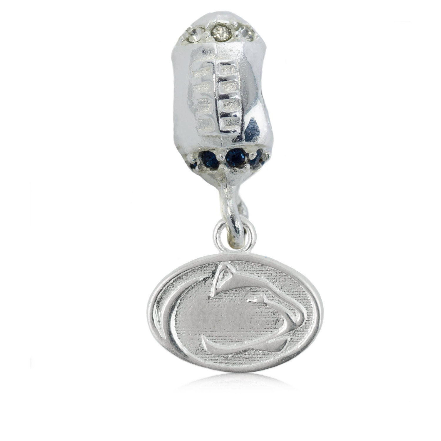 penn state nittany football charm bead penn state by