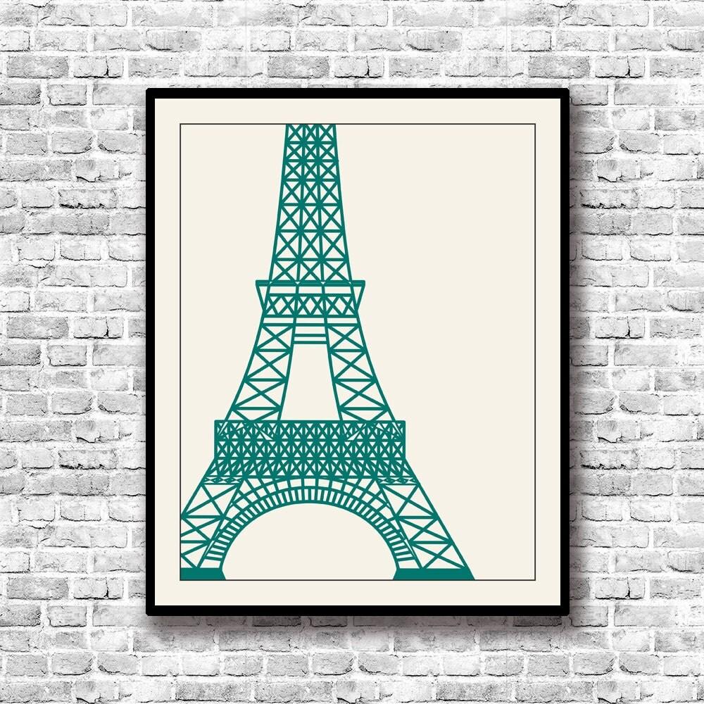 Torre eiffel lamina para imprimir for Laminas para pared