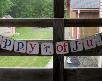 4th of July Banner/Patriotic Banner/July 4th Banner