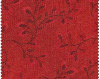Folio - Cardinal Red by Henry Glass (7755-81) Fabric Yardage