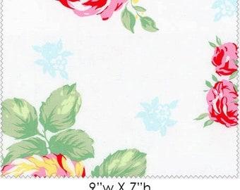 Flower Sugar 14 - Roses White (LEC30967-10) Lecien Fabric Yardage
