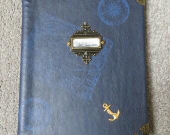 Steampunk Notebook/Journal 'British Empire Steamship Cargo Fleet' Captain's Log
