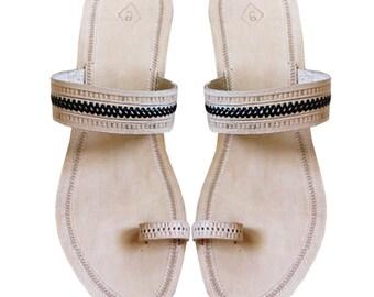 High Heel Leather Ladies Sandal DLC-W-039