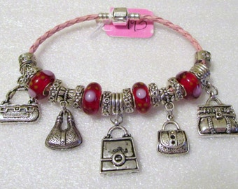 793 - Red Accessorize Bracelet