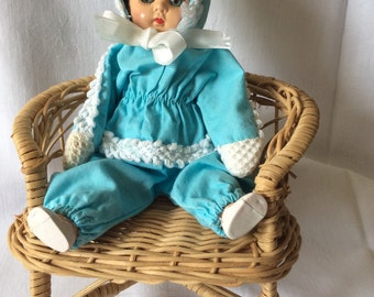 Vintage 3 Piece Doll Outfit for an 8 inch Ginny type doll.