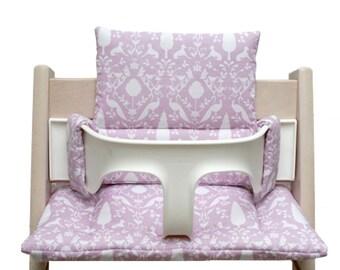 Cushion for Tripp Trapp High Chair - Oxford pink