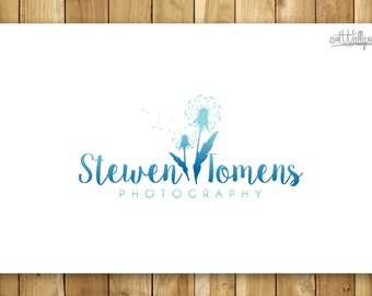 Pre made logo , Photography logo and Watermark - Dandelions