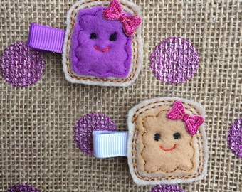 Peanut Butter and Jelly BFF clips
