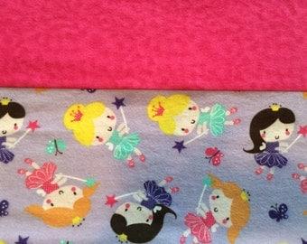 Personalized princess pillow case