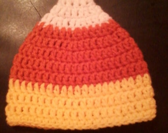 Baby Candy Corn Hat