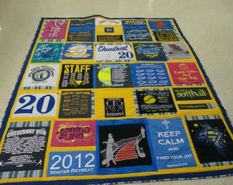 Custom made tshirt quilts (deposit)