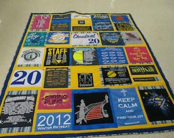 Custom made tshirt quilts (deposit)