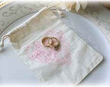 Wedding ring pouches
