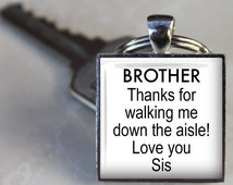 Good Wedding Gift For Brother : ... TieclipWedding Accessory Gift for Brother of Bride on Wedding Day