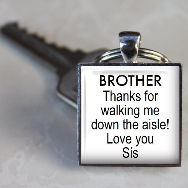 Love You Sis Hawa: BROTHER Thanks For Walking Me Down The Aisle Love You Sis