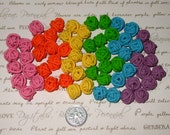 Wool/Yarn Beads - Set of 6