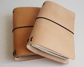 4-5 oz Leather journal covers (Undyed)
