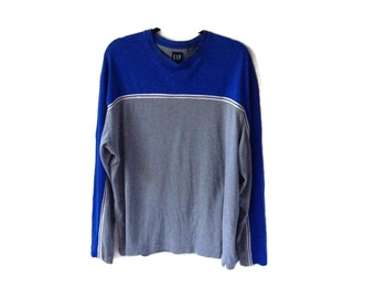 90's Sporty Striped Sleeve Shirt