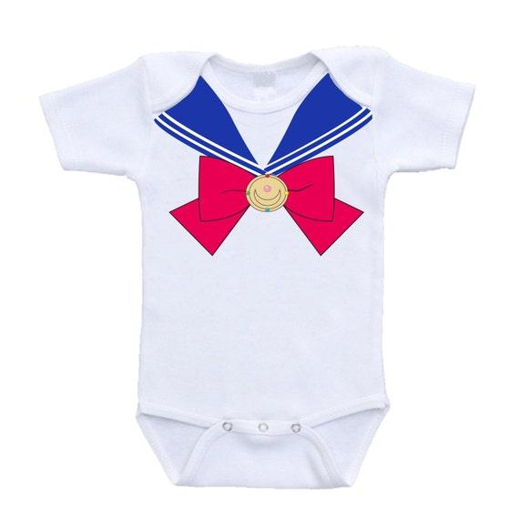 Sailor Moon Baby Clothes