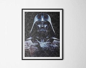 Star Wars Darth Vader Skywalker Art Print Download JPG