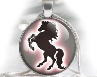 """Horses silhouettes - Digital bottle cap images - 1'' circles, 25mm, 30mm, 1.25"""", 1.5"""" for Jewelry Making, BUY 2 GET 1 FREE"""