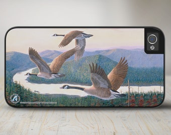 "Geese iPhone 5s Case, Geese iPhone 5 Case, Geese iPhone Case Protective Geese Phone Case ""High and Mighty""  50-5295"