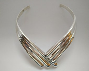 Sterling Silver Necklace, simple beautiful design