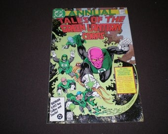 Tales of the Green Lantern Corps Annual 2, (1986), DC ST