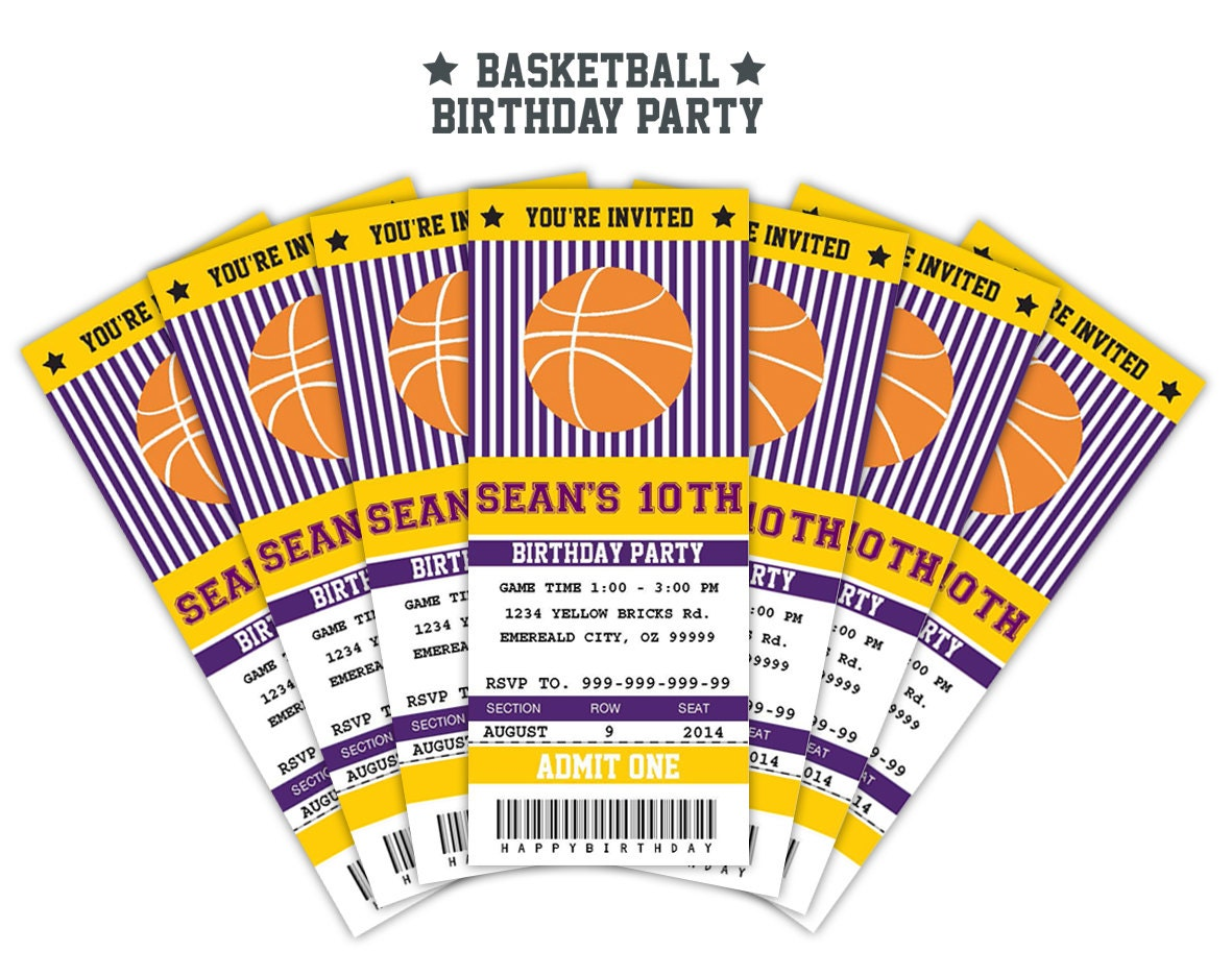 how to sell basketball tickets