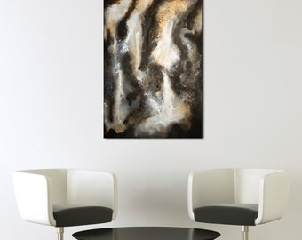 Confusion - Large Abstract painting (acrilic on canvas)