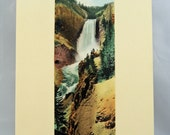 1930s Souvenir Wall Photo, Yellowstone National Park, Never Displayed, In Original Packaging