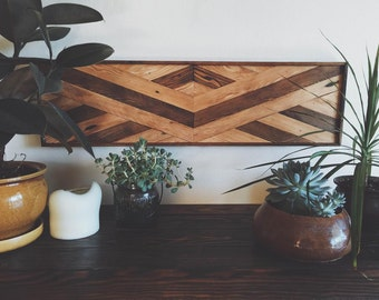 Rustic Reclaimed Salvaged Wood Wall Art