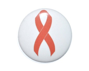 HIV awareness AIDS support red ribbon Drunk Driving Prevention Drug Prevention 2 1/4 inch button